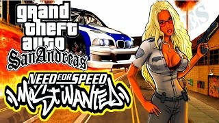 GTA SA - NEED FOR SPEED MOST WANTED 2016 | Скоростное Прохождение (SPEED RUN) #86