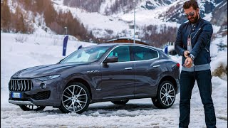My First Ever Drive In A Maserati - What Did I Think? Levante SUV