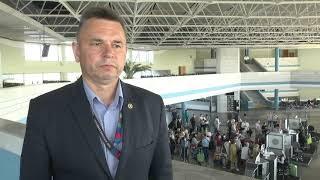 2021-09-10 г. Брест.  Аэропорт: итоги туристического  лета-2021. Новости на Буг-ТВ. #бугтв