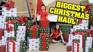 You gotta see our BIGGEST Christmas Haul EVER!