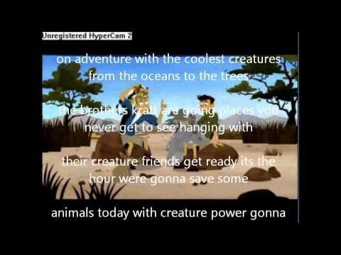 Wild Kratts Theme Song (V1) Battle from benjamincruz29