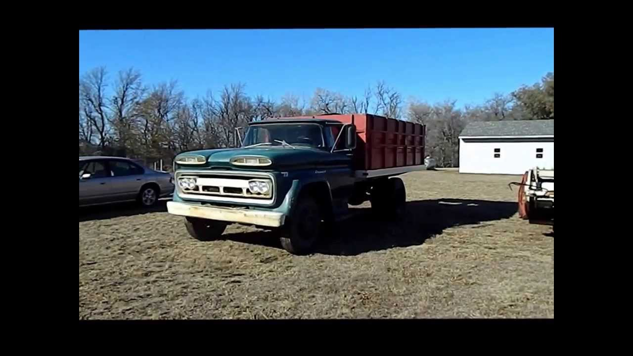 Grain Trucks For Sale >> 1960 Chevrolet Viking 60 grain truck for sale | sold at ...