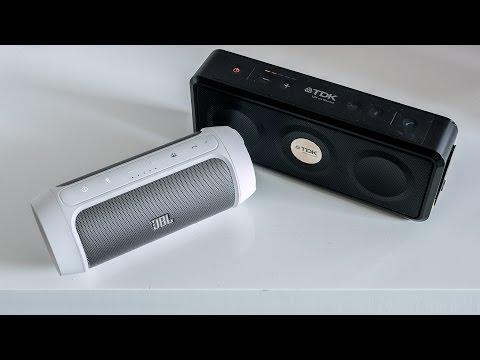 JBL Charge 2 vs. TDK A33 - sound comparison