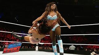 Naomi vs. Alicia Fox: WWE Main Event, March 28, 2015