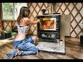Cover image Amazing Off Grid Yurt | Installing a Wood Stove & Chimney - Part 2