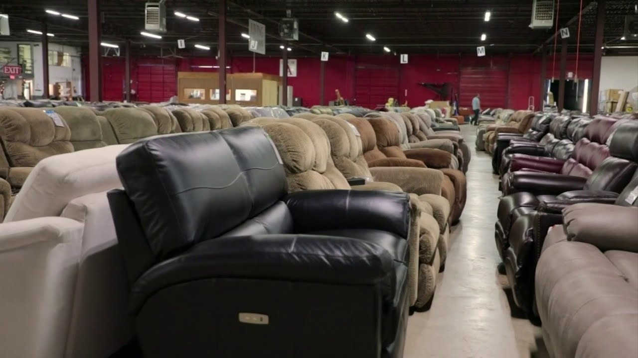 Save Big On Furniture At The Grand Home Furnishings Outlet Youtube