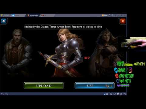 HOW TO CHANGE YOUR AVATAR IN KING OF AVALON OR GUNS OF GLORY