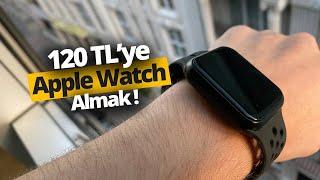 120 TL'ye kendini Apple Watch sanan Model F8 inceleme!