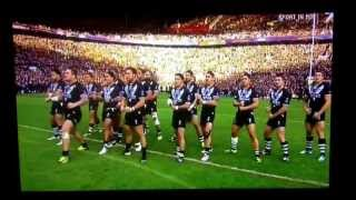 New Zealand vs. Australia - Rugby League World Cup Grand Final - New Haka