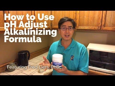 How To Use PH Adjust Alkalinizing Formula