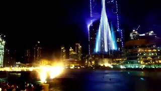 The Dubai Fountain 2018