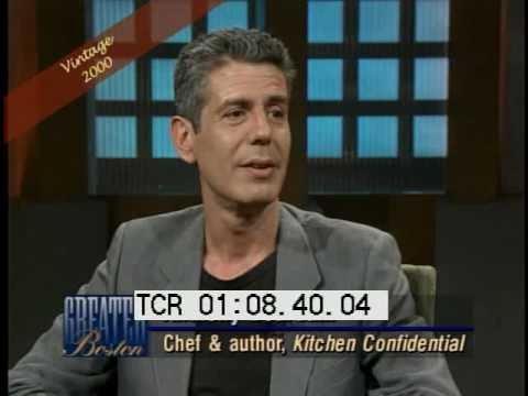 Anthony Bourdain interview 2000