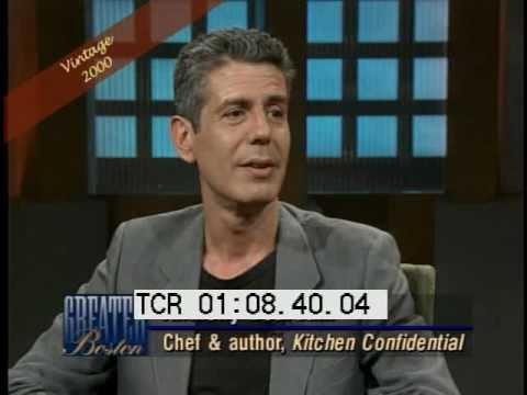 Anthony Bourdain interview 2000