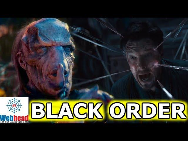 Doctor Strange Vs. Ebony Maw And The Black Order Revealed In New Infinity War Trailer! | Webhead