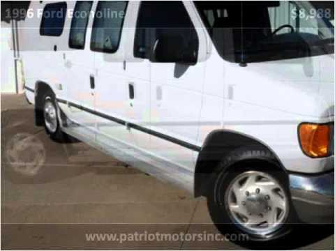 1996 ford econoline used cars colorado springs co youtube for Patriot motors colorado springs