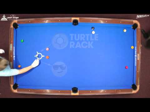 Stuttgart Open 2015, No. 24, 1/4 Final, C. Reimering vs. K. Zobrekis, 10-Ball, Pool-Billard