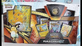 Opening A Raichu GX Special Collection Box!!!