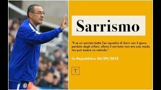 SARRI BALL, IL SARRISMO ENTRA NELL'ENCICLOPEDIA TRECCANI