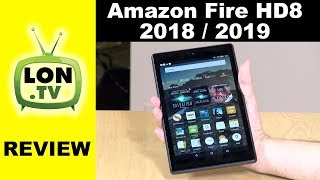 New Amazon Fire HD 8 Tablet Review for 2018 / 2019 - Same Hardware, New Software