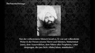 Mirza Ghulam Ahmad (as) schreibt über Mohammed (saw)