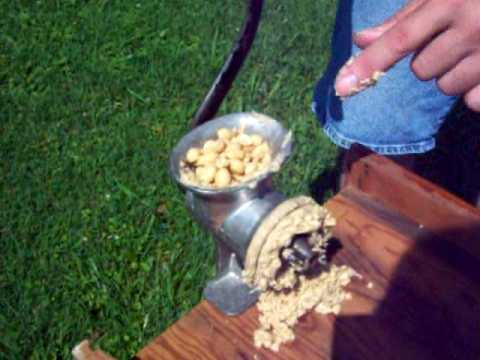 keystone peanut butter maker machine cast iron old antique neat cool homemade nut grinder