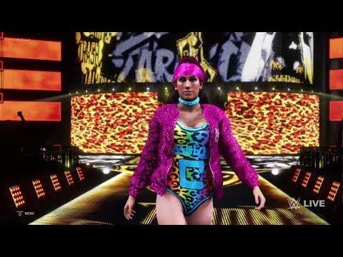 WWE 2K20 - Fire & Desire VS Carmella And Sasha MemoryBanks