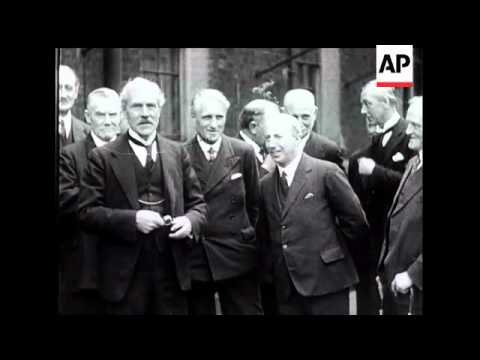 Ramsay MacDonald and His Labour Cabinet