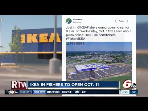 Fishers IKEA to open Oct. 11