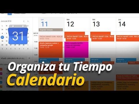 Cómo usar el Calendario de google - Aumentar productividad