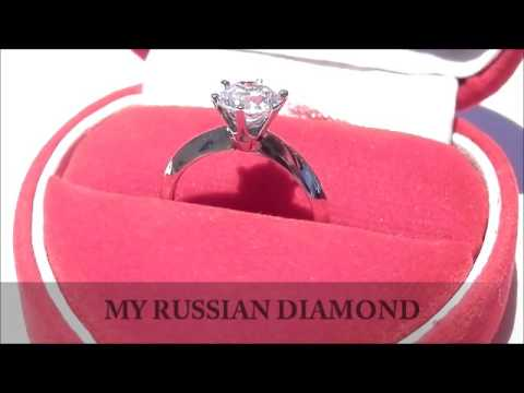 Tiffany Knife Edge Solitaire Engagement Ring By My Russian Diamond