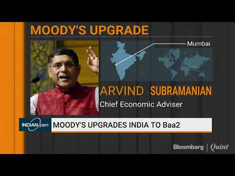 Arvind Subramanian On Moody's Upgrade