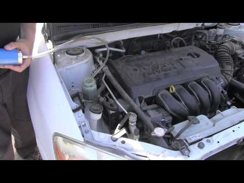 Toyota Corolla Power Steering Fluid Flush Youtube
