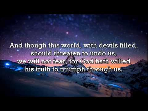 A Mighty Fortress Is Our God by Discovery Singers (with lyrics)