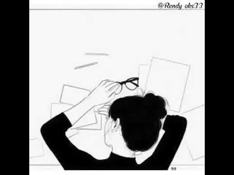 52 Gambar Animasi Keren Galau Kekinian
