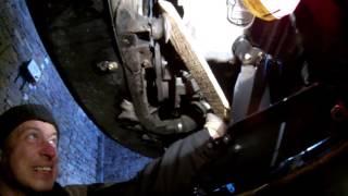 замена переднего упора двигателя фольксваген пассат б5 1.8 т без снятия бампера WV Passat B5+