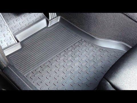 """Резиновые коврики в салоне автомобиля. Обзор ковриков """"Сетка"""". Коврики в багажник"""