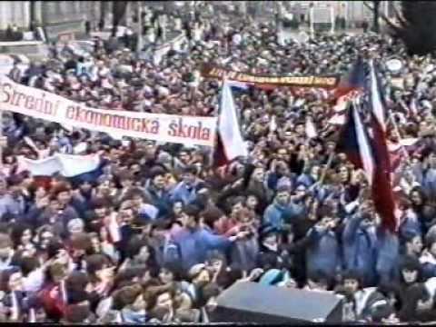 Břeclav 1989 - sametová revoluce 3.část