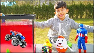 Float or Sink with Kids Toys Challenge!