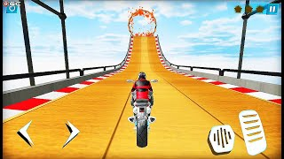 Bike Rider 2020 Motorcycle Stunts Game - Impossible Motor Bike Games - Android GamePlay #5