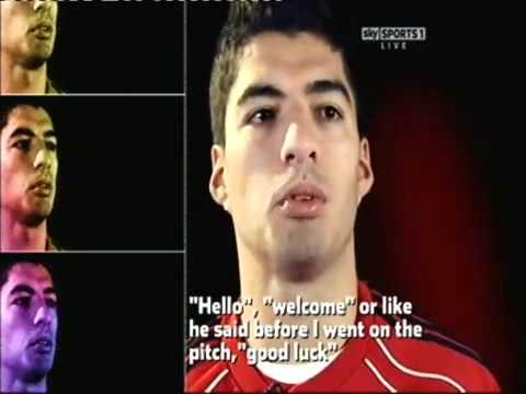 Luis Suarez First Interview