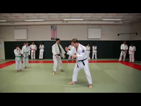démonstration 1, cours de judo Loïc Pietri à l'Ajcp12