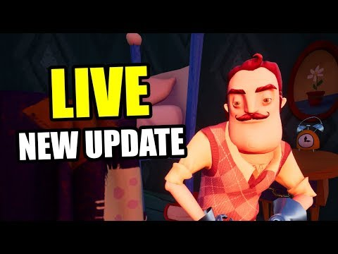 HELLO NEIGHBOR NEW UPDATE 1.1.8