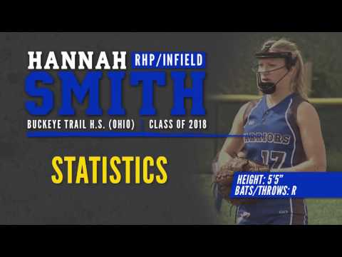 "SOFTBALL RECRUIT: Hannah Smith - P/INF, 5'5"" (Buckeye Trail High School - Class of 2018)"