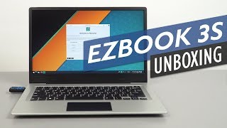 Jumper EZBook 3S Unboxing And Hands-On Review