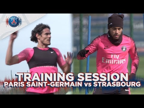 TRAINING SESSION - PARIS SAINT-GERMAIN VS STRASBOURG