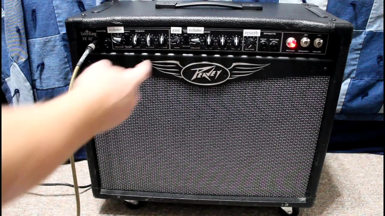 Peavey Valve King 112 : peavey valveking 112 vk112 50w all tube amp 1x12 combo amp demo youtube ~ Hamham.info Haus und Dekorationen