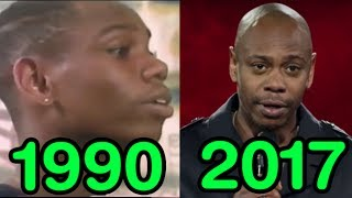 The Evolution of Dave Chappelle (1990-2017)