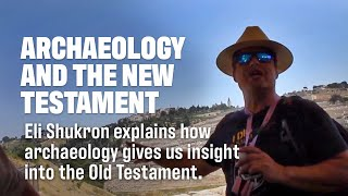 Eli Shukron teaches about the Excavation of the City of David