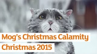 Sainsbury's OFFICIAL Christmas Advert 2015 – Mog's Christmas Calamity(Presenting the new Sainsbury's Christmas Advert. Mog sets off a chain of unfortunate events which almost ruin Christmas for the Thomas family. Can she pull it ..., 2015-11-12T19:15:02.000Z)