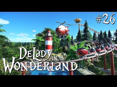 26. Planet Coaster: DeLady in Wonderland - Toy Land - Ep. 2 - Kiddie coaster - Hangar 13 - Part 1